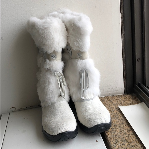 White Snow Boots Women